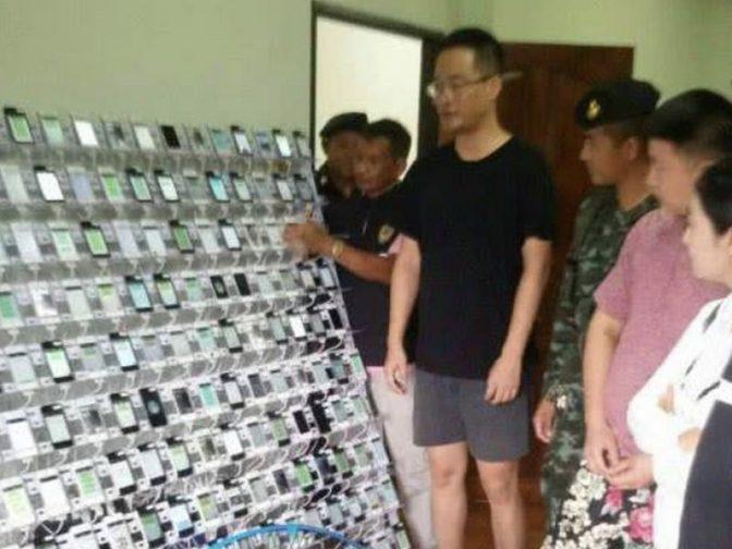 Штаб по накрутке кликов с 350 тыс. SIM-карт и 450 айфонами обнаружен в Таиланде