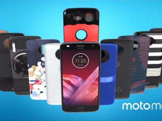 В продаже появилась новая модель смартфона Moto Z2 Play