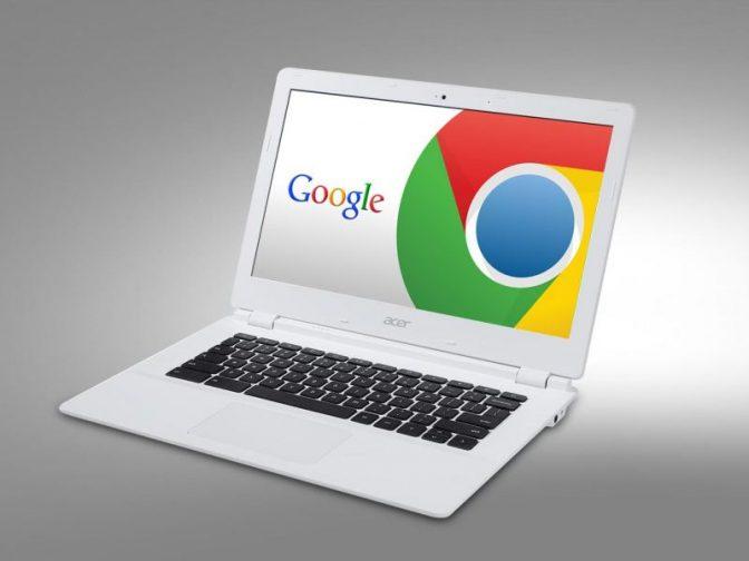Популярность Chromebook выросла почти на 40%