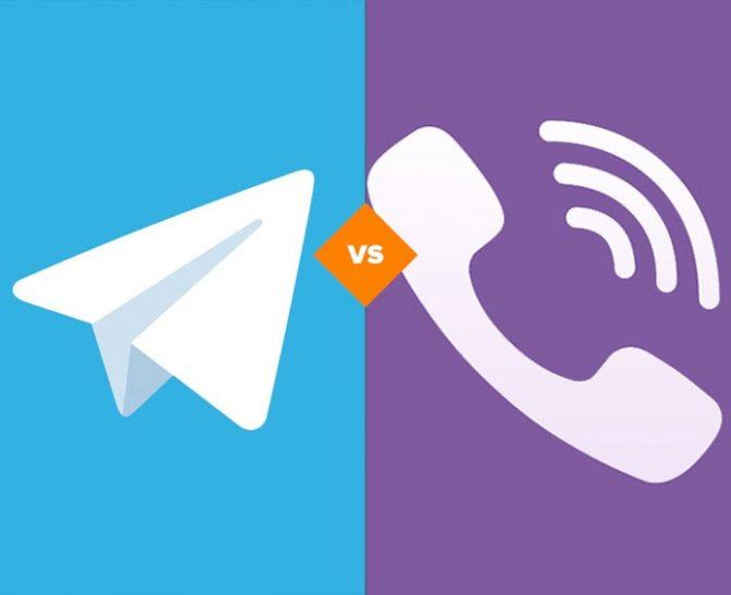 Telegram опередил по популярности Viber